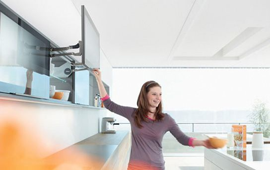 AVENTOS HL holds in any position