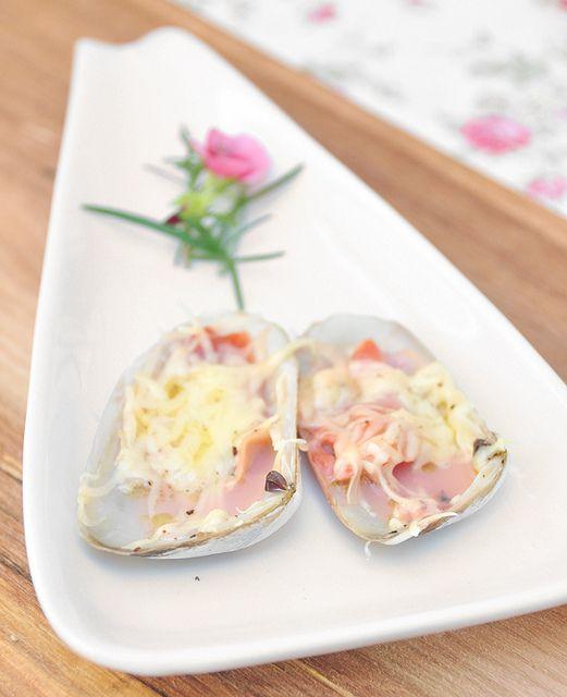 Espacio Culinario: Machas a la parmesana