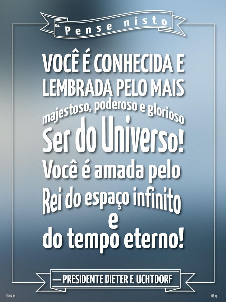 Como sabe que Deus ama você? Portugues SUD LDS