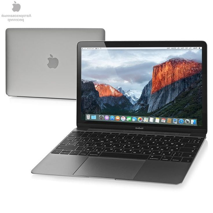 ноутбук Apple MacBook 12 Space Grey, MLH72RU/A