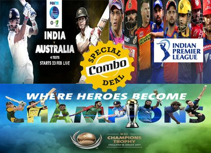 Combo Offer On LIVE Cricket HD: Watching Live Cricket Match Online Free Is A Bad Choice - 3 Reasons Supporting This