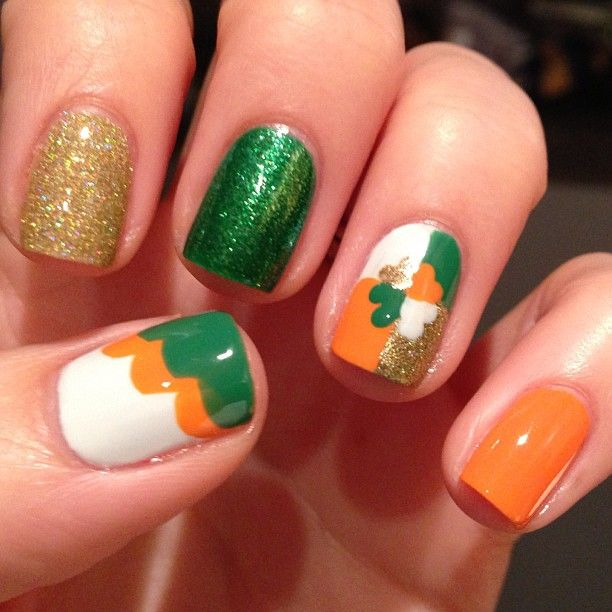 akfilush is getting festive! Show us your best St. Patrick's Day nails—and they could be featured on our Pinterest and Instagram! Tag a pic of your festive mani with #SephoraStPaddys