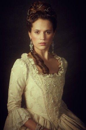 "Alicia Vikander - ""En kongelig affaere"" = ""A royal affair"" (2012) - Costume designer : Manon Rasmussen"