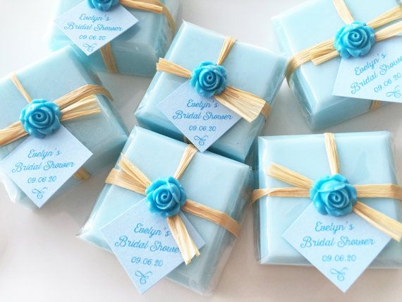 Blue Soap Favors, Favor Soaps, Bridal Shower Favors, Wedding Favors, Baby  Shower Favors, Party Favors, Thank You Favor