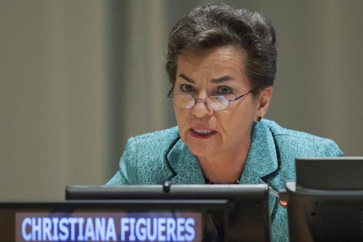 Christiana Figueres: EEUU perdería oportunidades si abandona acuerdo París