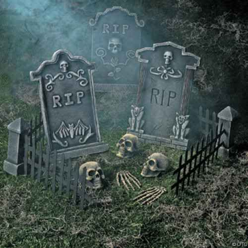 halloween graveyard decorations diy