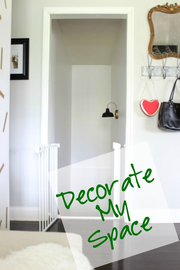 We helped Jenna LaFevor of Rain on a Tin Roof find a trusted, local pro to revamp her stairwell. View the before & after photos and help her decide how to decorate her newly painted space! #homeimprovement   #beforeandafter  #homeproject   #hireapro