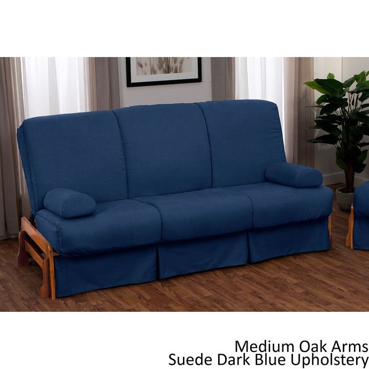 This queen sofa bed is ideal if you have guests staying over for the night. There are six different colors so you can pick the one that best matches your decor, and when it's used as a bed it has no head or footboard so it's great for taller people.