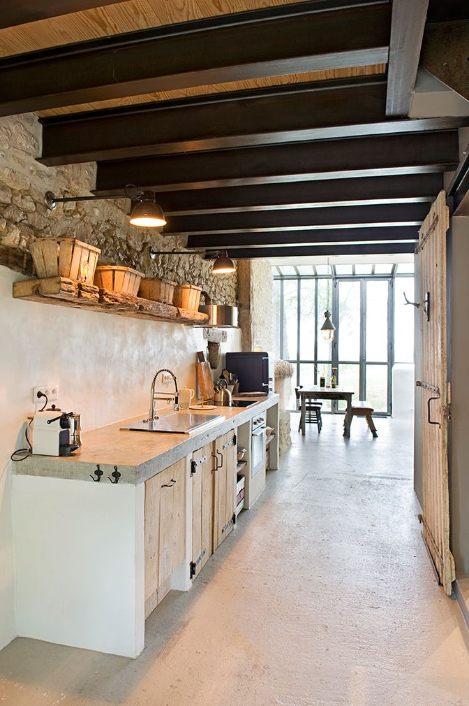 farmhouse~ #interiordesign,decordemon: ''Bassivière'' A 17th-century farmhouse in the Lot-et-Garonne