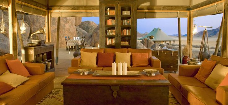 Boulders Camp - Lodges & Camps - Wolwedans NamibRand Reserve - Namibia