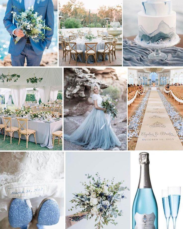 """После традиционного майского затишья мы в """"Ателье Счастья"""" готовимся к вот-вот обрушащейся на нас лавине свадебных торжеств! И ни минуты не сомневаемся, что одним из основных цветов этой лавины станет вот такой небесно-голубой. Ведь нежно-голубые свадьбы - один из заявленных трендов летнего сезона!  #mywedding #weddingstory #myweddingstory #weddingdress #weddingdecor #happytimes #weddingagency #weddingdesign #weddinginspiration  #свадьба #свадьбаподключ #свадебноеагентство #организациясвадеб…"""