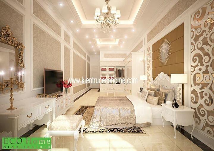 Thiết kế nội thất biệt thự, interior design