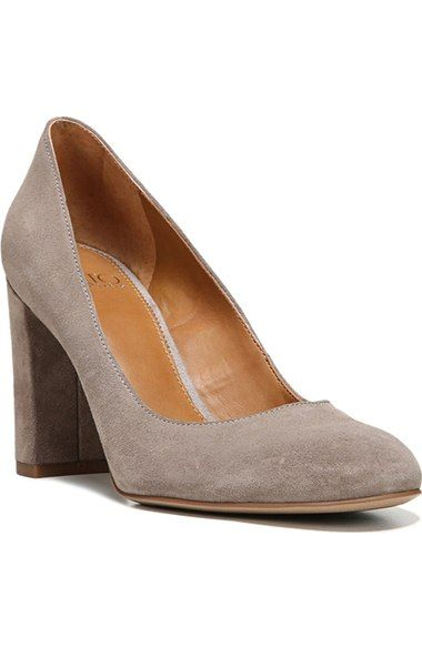 SARTO by Franco Sarto 'Aziza' Block Heel Pump (Women) available at #Nordstrom