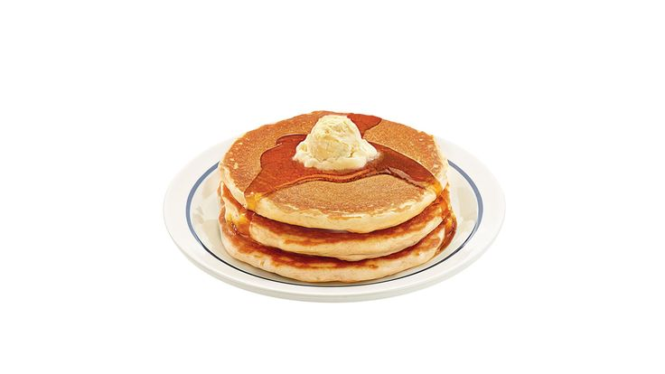 Breakfast lovers can get free pancakes today at IHOP restaurants as part of the restaurant chain's National Pancake Day festivities.