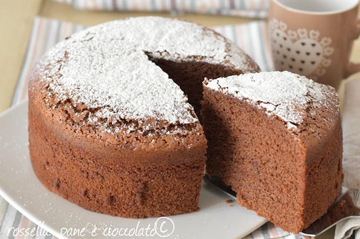 Torta alla nutella senza burro e senza olio alta e soffice perfetta sia per la merenda che per la colazione. Non perdetevi la ricetta!