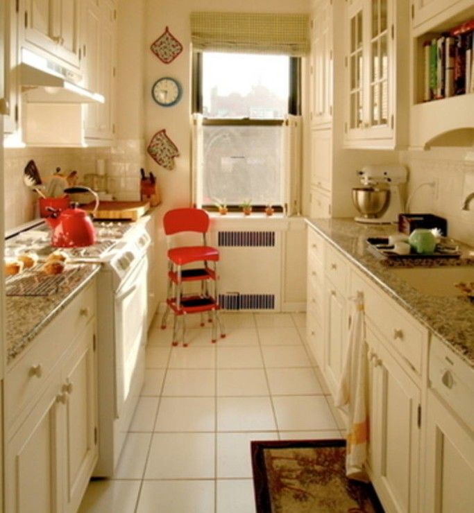 Apartment Galley Kitchen Designs: 36 Best Efficiency With Galley Kitchen Images On Pinterest