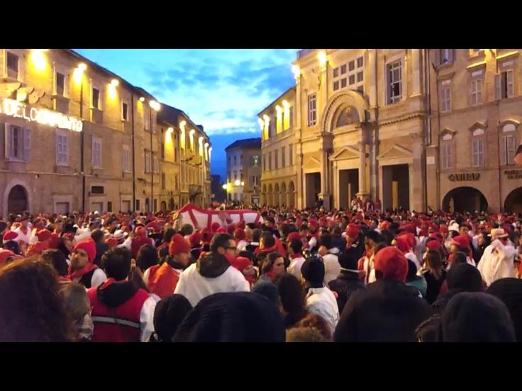 """Historical festival """"bove finto"""" in Offida, Le Marche"""
