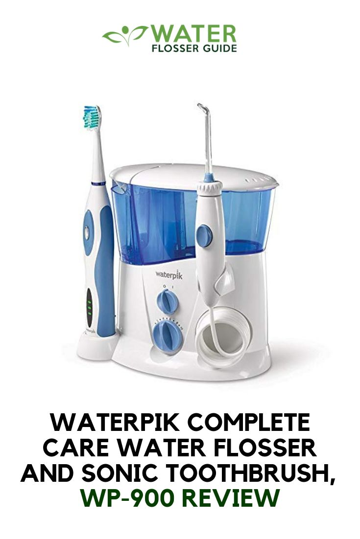 how to use water flosser for teeth