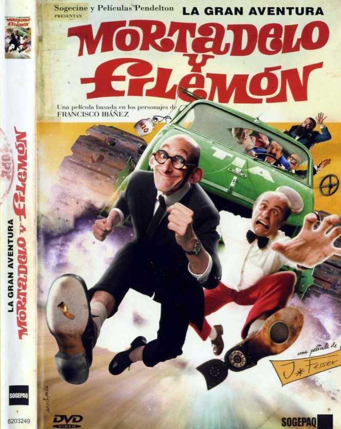 La Gran Aventura Mortadelo Y Filemon 2003 A Grande Aventura De Mortadelo E Salaminho Mortadelo Y Filemon Filemon Cine Y Literatura
