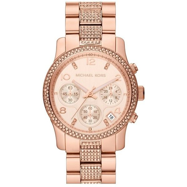 Top 10 Ideas About MK Watches And BraceletsI Want On Pinterest Gold Fashion