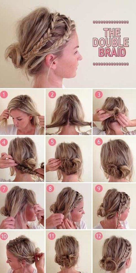 Casual Updo Hair Style Tutorial