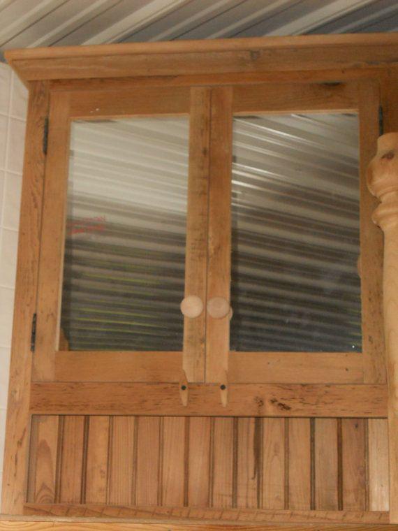 reclaimed barn wood furniture bathroom by on etsy