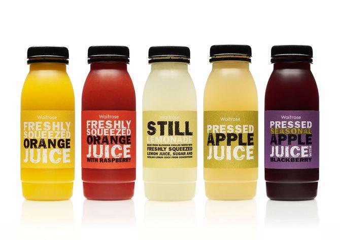 Waitrose freshly squeezed juices - Sarah Whitehouse