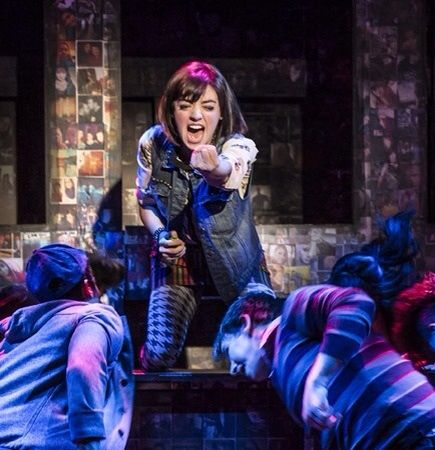 Barrett Wilbert Weed as Nadia in Bare.