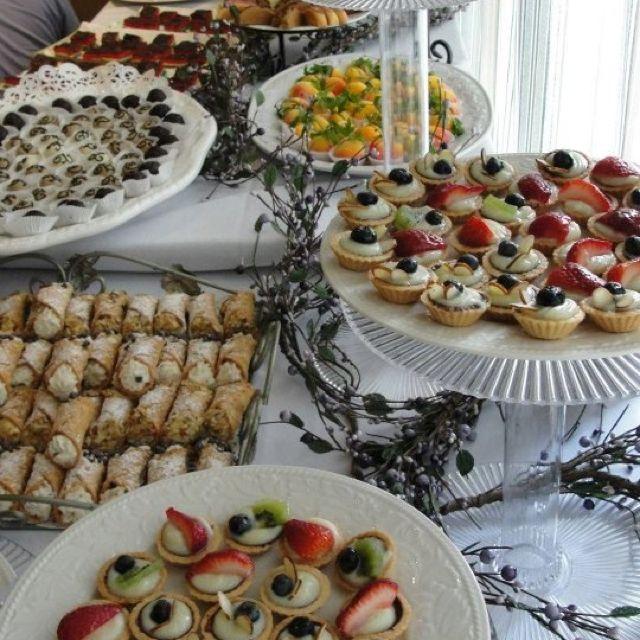 Italian Dessert Table Food Display Ideas Pinterest