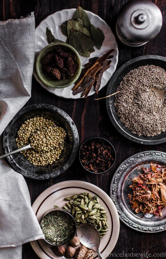 Spices used for Garam Masala
