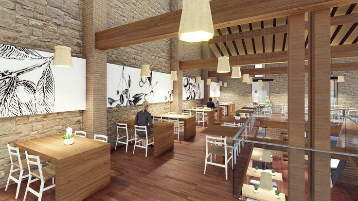 NUEVO #Proyecto | Molino de Harina-Restaurante  Rememorando un antiguo oficio. #Arquitectura de raíces históricas