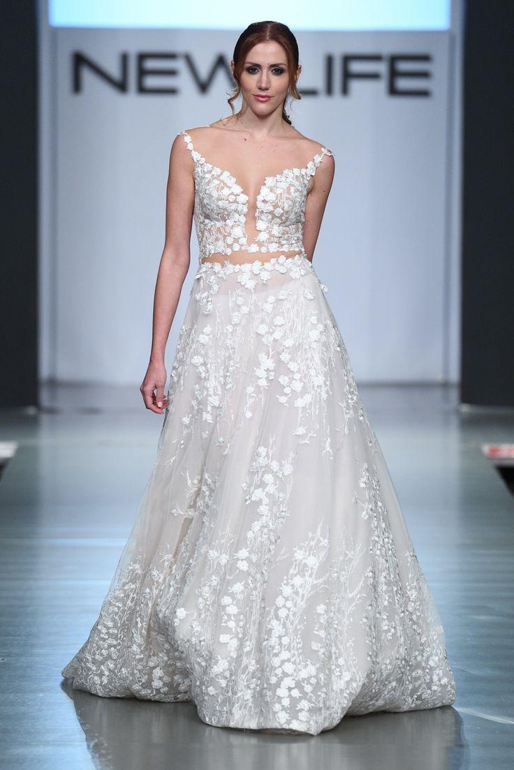FIORI #weddingdress #weddinggown #croptop