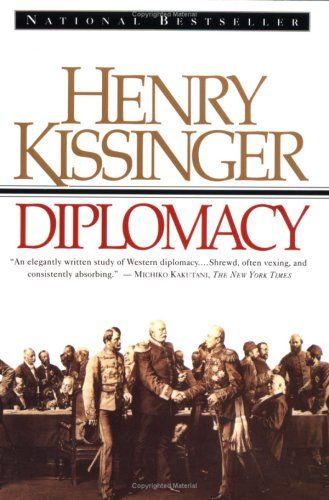 As far as International Relations and History go, this book by far trumps all others. It's interesting, insightful and loaded with personal and professional experience. Kissinger's politics aside, this book should only be considered by die-hard fans of the subject. It does not disappoint.