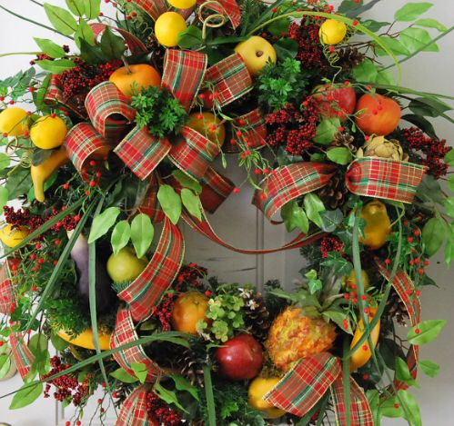 XL Williamsburg Christmas Wreath