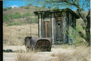 Ruby - Arizona Ghost Town - outhouse
