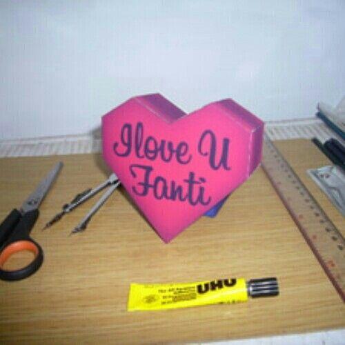 Paper love bisa pesan sesuai keinginan