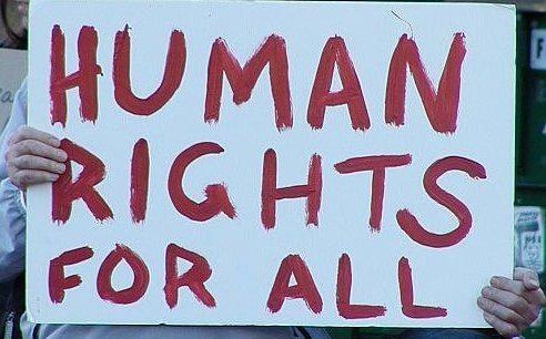 Human Rights for All. While we should support human rights everyday, today, December 10th, is officially recognized as Human Rights Day. Keep fighting for human rights everywhere!