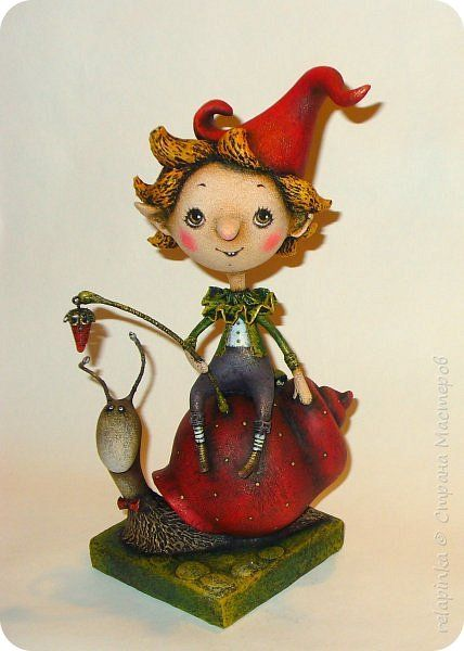 Куклы Папье-маше Мы едем едем едем  Бумага фото 1