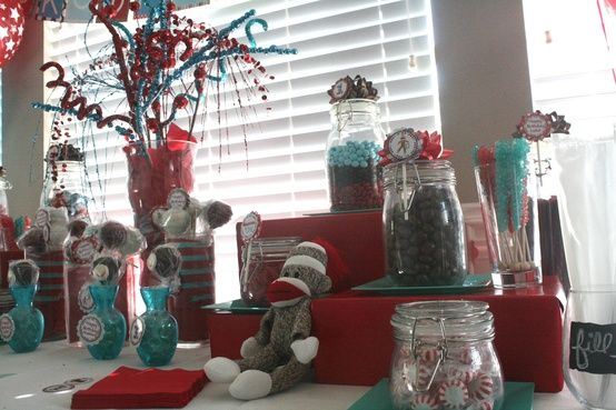 30 Best Images About Sock Monkey Party Ideas On Pinterest