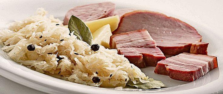 Bernese platter with sauerkraut