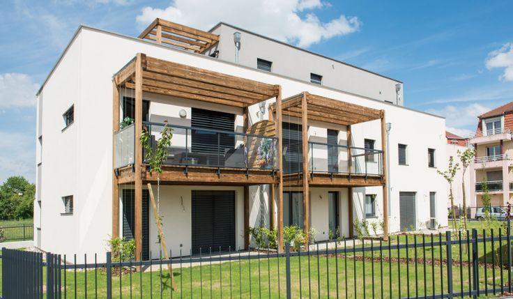 10 maisons et 18 logements intermédiaires bepass, strasbourg neuhof (67), Patrick SCHWEITZER & Associés - Agence d'architecture de la région Alsace