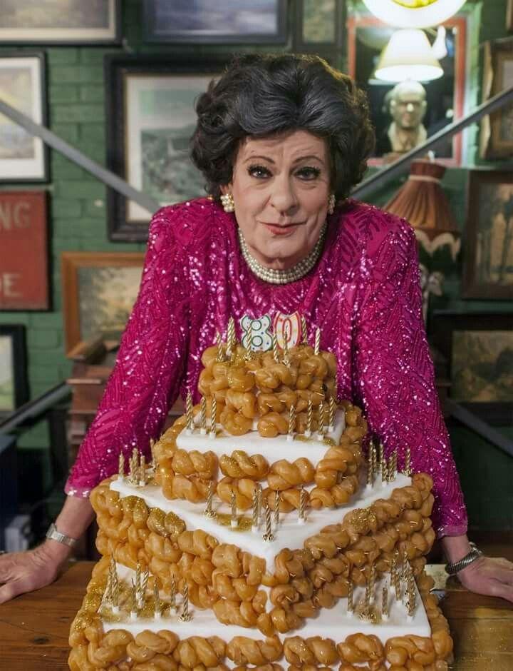 Happy,  happy,  happy 80's birthday Evita, enjoy the koeksisters.....