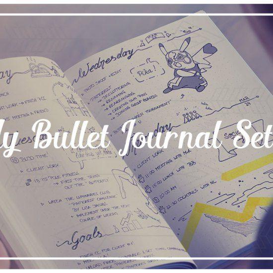 My Bullet Journal SetUp For June