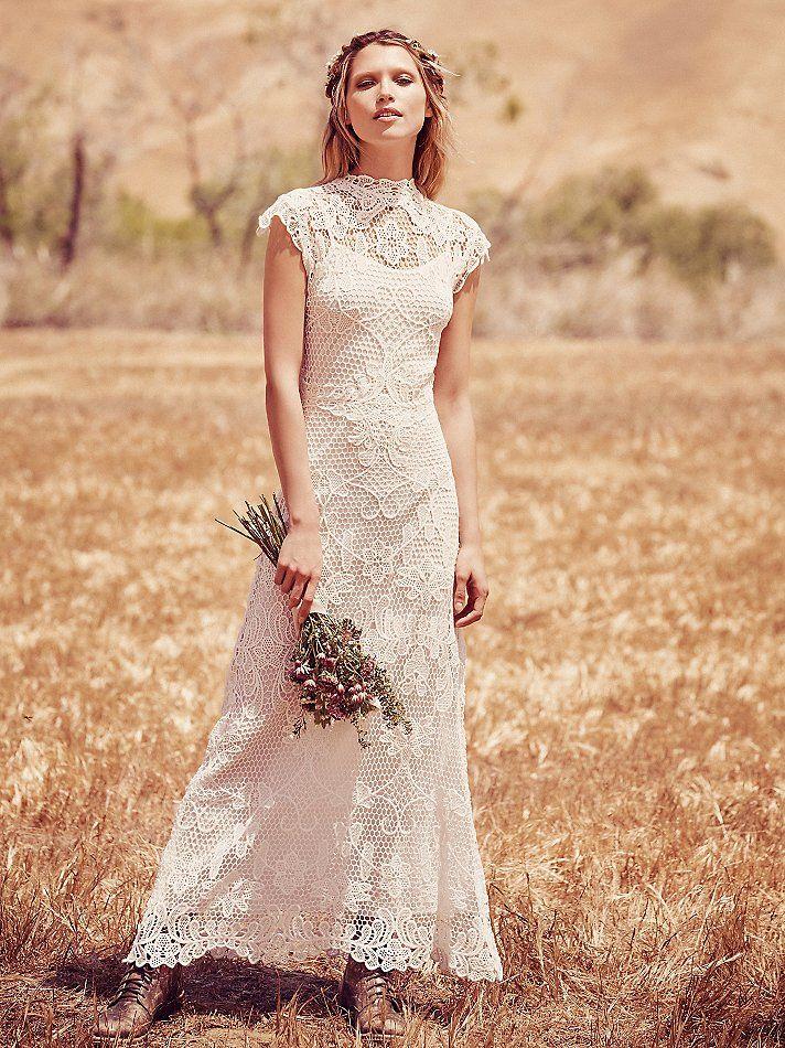Boho Chic Wedding Dresses For Summer