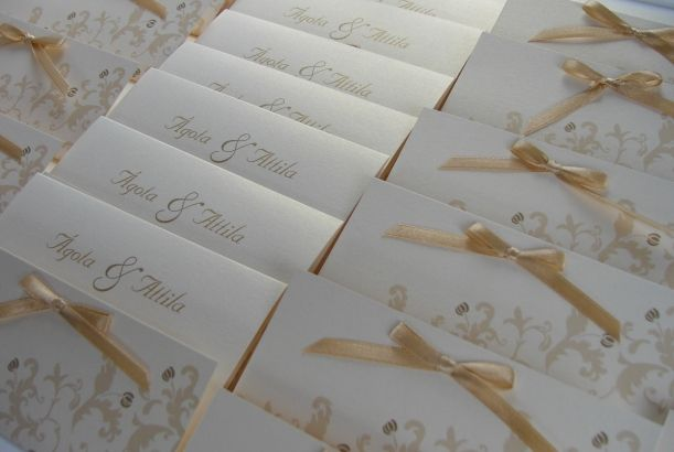 PRAMON CARD / wedding invitation card