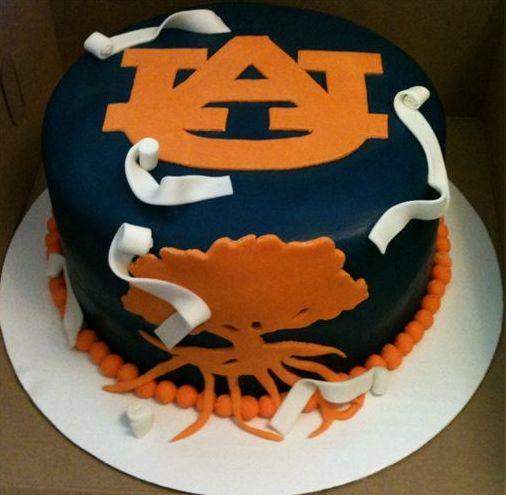 Toomer's Corner cake