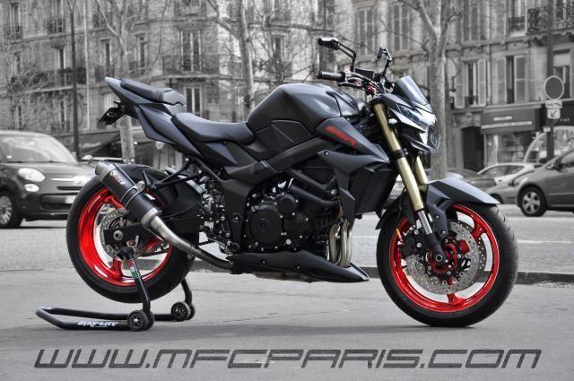 SUZUKI by MFC Paris GSR 750 BC-030 MFC Design - Préparation motos, peinture, design, tuning, Suzuki - Kawasaki