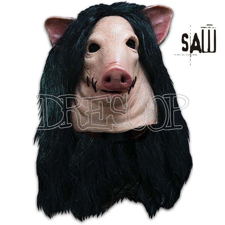 Máscara de Cerdo de Saw Puzzle Jigsaw - Dresoop.es