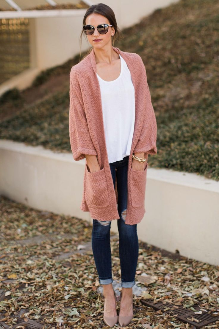 All Your Love Dusty Pink Cardigan at reddressboutique.com