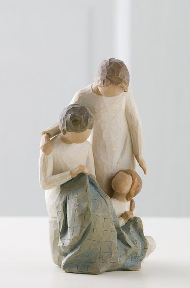 Generations - Willow Tree Figurine - The Shabby Shed  Sentiment: Making memories that last lifetimes